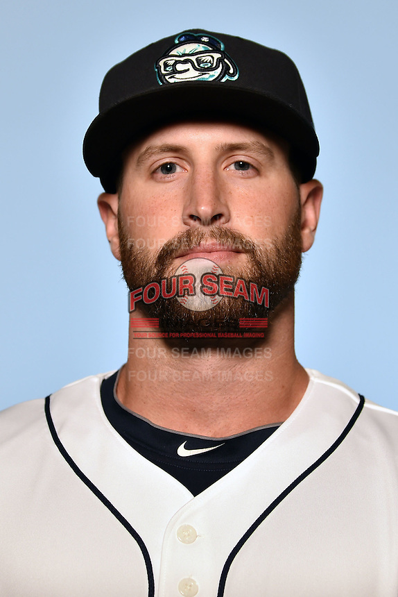 Asheville Tourists pitcher Scott Firth (23) on April 7, 2015 in Asheville, North Carolina. (Tony Farlow/Four Seam Images)