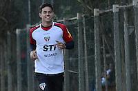 SAO PAULO, 04 DE JUNHO DE 2013 - TREINO SAO PAULO - O goleiro Renan durante treino do Sao Paulo, no CT da Barra Funda, na tarde desta terça fera, 04, região oeste da capital. (FOTO: ALEXANDRE MOREIRA / BRAZIL PHOTO PRESS)