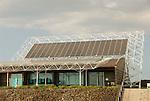 Photovoltaic solar panels, Kailua-Kona, Hawaii Island, Hawaii