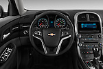 Steering wheel view of a 2013 Chevrolet Malibu 1LS Sedan