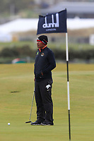 Thongchai Jaidee (THA) on the 15th green during round 4 of the Alfred Dunhill Links Championship at Old Course St. Andrew's, Fife, Scotland. 07/10/2018.<br /> Picture Thos Caffrey / Golffile.ie<br /> <br /> All photo usage must carry mandatory copyright credit (&copy; Golffile | Thos Caffrey)