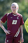 26 October 2014: Boston College's Madison Kenny. The Duke University Blue Devils hosted the Boston College University Eagles at Koskinen Stadium in Durham, North Carolina in a 2014 NCAA Division I Women's Soccer match. Duke won the game 2-1 in overtime.