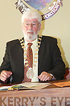 Newly elected Mayor of Tralee Johnny Wall, on Monday evening........