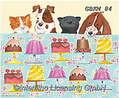 Kate, CUTE ANIMALS, LUSTIGE TIERE, ANIMALITOS DIVERTIDOS, paintings+++++Cats & dogs page 39,GBKM84,#ac#, EVERYDAY ,dogs,dog
