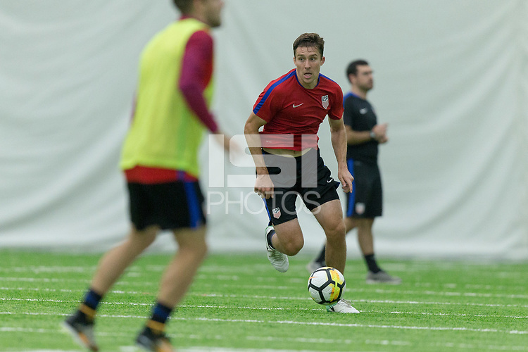 Nashville, TN - July 5, 2017: Matt Besler     during Training Titans Practice Facility prior to their 2017 Gold Cup.
