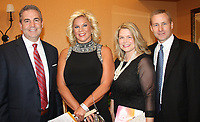 NWA Democrat-Gazette/CARIN SCHOPPMEYER Andy Kaufmann (from left), Biffy Fletcher and Jamie and Josh Hamblen attend the Heart Ball American Heart Association Heart of a Rockstar.