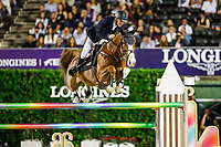BEL-Pieter Devos rides Jade V Bisschop during the Hyundai Cup of the City of Barcelona. Final-1st. 2019 CSIO Barcelona - Longines FEI Nations Cup Jumping Final. Reial Club de Polo de Barcelona. Spain. Friday 4 October. Copyright Photo: Libby Law Photography