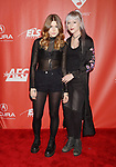 LOS ANGELES, CA - FEBRUARY 10: Musicians Rebecca Lovell (L) and Megan Lovell of Larkin Poe attend MusiCares Person of the Year honoring Tom Petty at the Los Angeles Convention Center on February 10, 2017 in Los Angeles, California.