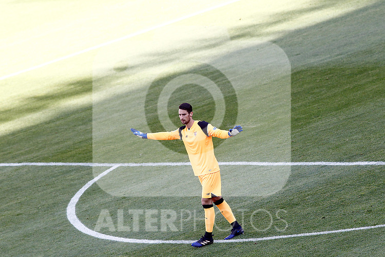 Sevilla FC's Sergio Rico during La Liga match. March 19,2017. (ALTERPHOTOS/Acero)
