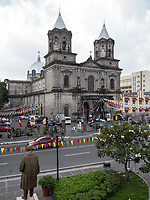Church in Angeles City, Pampanga, Philippines