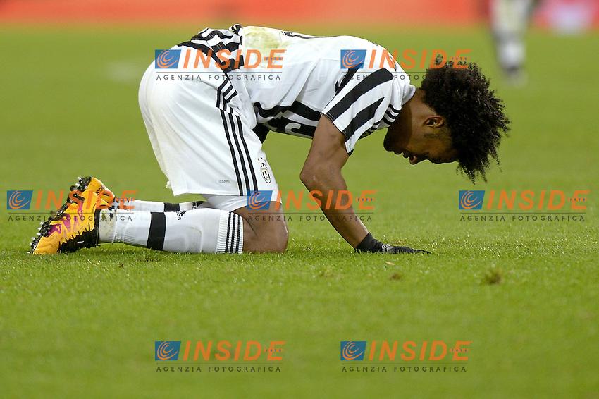 Juan Cuadrado Juventus,<br /> Torino 03-02-2016, Juventus Stadium, Football Calcio 2015/2016 Serie A, Juventus - Genoa, Foto Filippo Alfero/Insidefoto