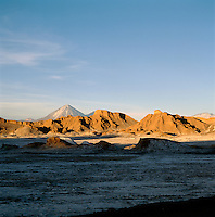 Mountains In The Atacama Desert, Valle De La Luna, San Pedro, Chile