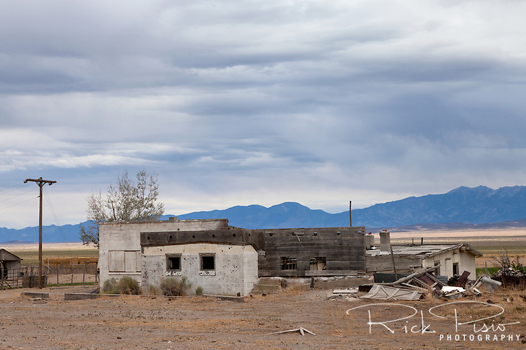 The General Store at Tippet's Ranch was in use from the early 1900's and closed in the 1970's. Originally built of logs with a dirt roof the buildings were remodeled in the 1950's & 60's with cinder block outer walls and the logs enclosed in cement and plaster.