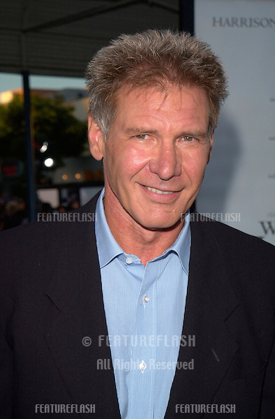 Actor HARRISON FORD at the premiere, in Los Angeles, of his new movie What Lies Beneath.