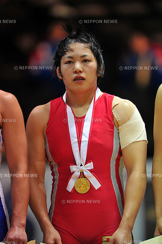 Takako Saito, DECEMBER 21, 2011 - Wrestling : All Japan Wrestling Championship Women's Free Style -59kg Final at 2nd Yoyogi Gymnasium, Tokyo, Japan. (Photo by Jun Tsukida/AFLO SPORT) [0003]