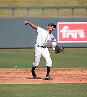 Alexander Mojica participates in the MLB International Showcase at Salt River Fields on November 12-14, 2019 in Scottsdale, Arizona (Bill Mitchell)