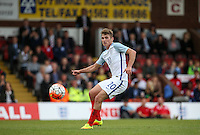Ryan Ledson (Oxford United) of England plays a pass during the International match between England U20 and Brazil U20 at the Aggborough Stadium, Kidderminster, England on 4 September 2016. Photo by Andy Rowland / PRiME Media Images.