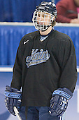 Mike Lundin - The University of Maine Black Bears practiced on Wednesday, April 5, 2006, at the Bradley Center in Milwaukee, Wisconsin, in preparation for their April 6 2006 Frozen Four Semi-Final game versus the University of Wisconsin.