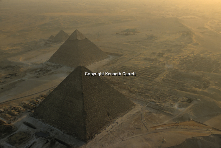 Old Kingdom; Pyramids at Giza; Giza Plateau; Giza; Egypt