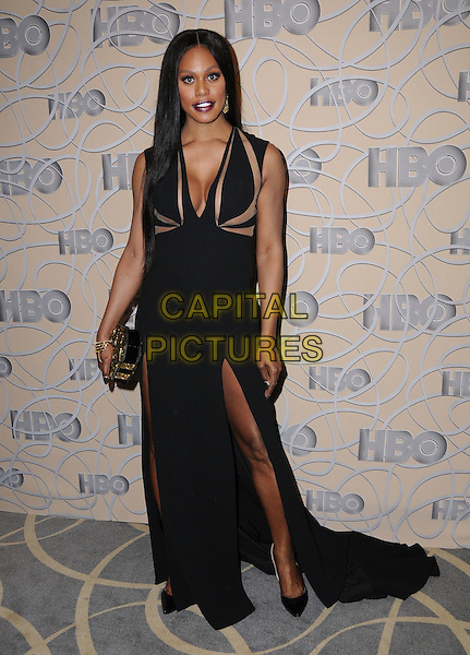 08 January 2017 - Beverly Hills, California - Laverne Cox. HBO's Official 2017 Golden Globe Awards After Party held at the Beverly Hilton Hotel <br /> CAP/ADM/BT<br /> &copy;BT/ADM/Capital Pictures