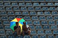 BUENOS AIRES, ARGENTINA, 01 FEVEREIRO 2013 - COPA DAVIS - ARGENTINA X ALEMANHA - Carlos Berloco tenista argentino durante confronto contra P. Kohlschreiber da Alemanha, durante a Copa Davis disputada entre os dois pais em Buenos Aires na Argentina, nesta sexta-feira, 01. (FOTO: JUANI RONCORONI / BRAZIL PHOTO PRESS).