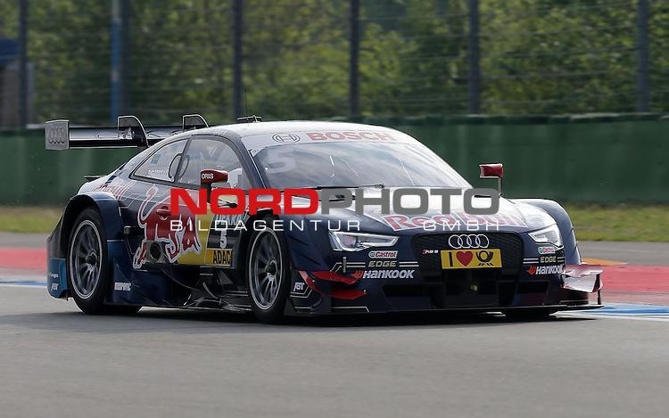 DTM 2015, 01.Lauf Hockenheimring, 01.05. - 03.05.15 <br /> Mattias Ekstr&ouml;m (SWE#5) Audi Sport Team Abt Sportsline Audi RS 5 DTM <br /> <br /> <br /> <br /> Foto &copy; nordphoto /  Bratic
