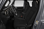 Front seat view of 2020 JEEP Gladiator Sport-S 4 Door Pick-up Front Seat  car photos