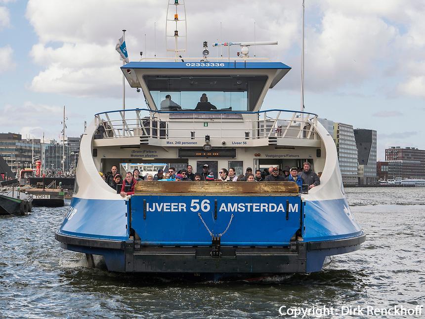 Hafenf&auml;hre, Amsterdam, Provinz Nordholland, Niederlande<br /> harbor ferry, Amsterdam, Province North Holland, Netherlands