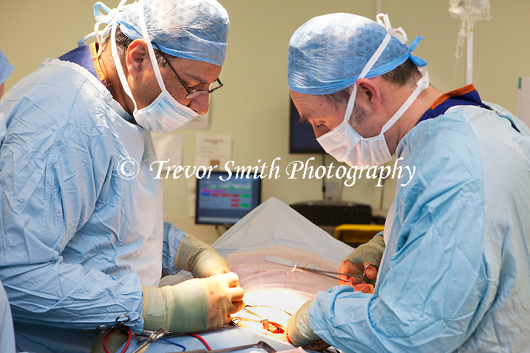 Surgery in a Hospital Operating Theatre