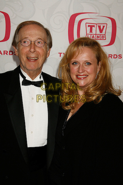 BERNIE KOPELL & GUEST.Attending the 5th Annual TV Land Awards - Arrivals,.held at Barker Hangar, Santa Monica, California, .USA, 14 April, 2007..half length.CAP/ADM/RE.©Russ Elliot/AdMedia/Capital Pictures.