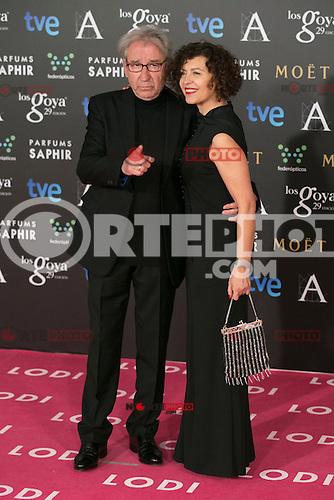 Jose Sacristan attend the 2015 Goya Awards at Auditorium Hotel, Madrid,  Spain. February 07, 2015.(ALTERPHOTOS/)Carlos Dafonte) /NORTEphoto.com