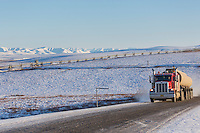 Also known as the Haul Road, this road connects Fairbanks with Deadhorse, and the Arctic Ocean.