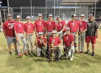 Photo Submitted<br /> The McDonald County 16U baseball team won the Owasso 16U Baseball Tournament held June 8-9 in Owasso, Okla.