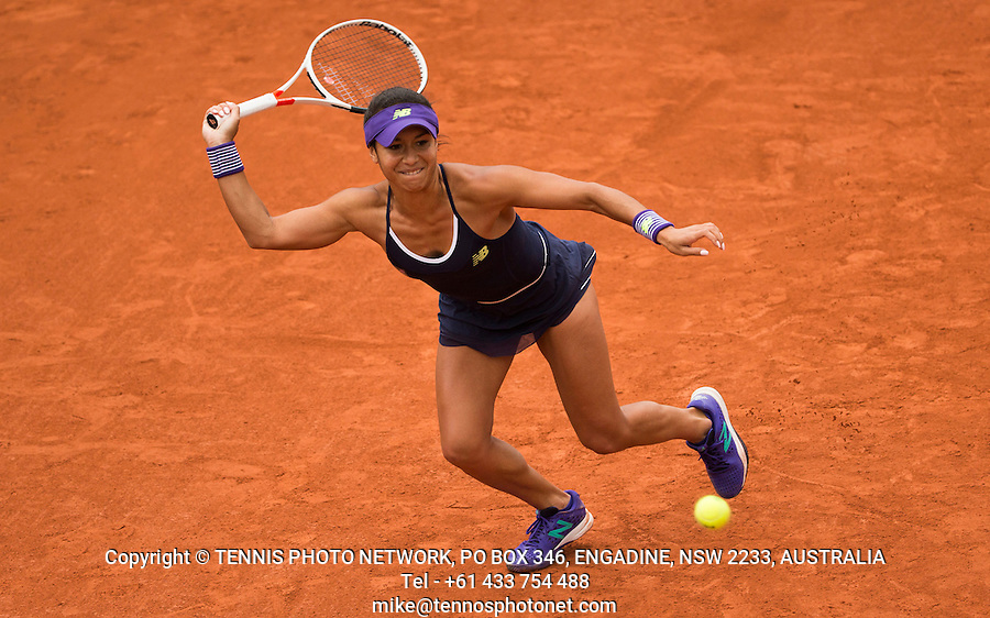 HEATHER WATSON (GBR)<br /> <br /> TENNIS - FRENCH OPEN - ROLAND GARROS - ATP - WTA - ITF - GRAND SLAM - CHAMPIONSHIPS - PARIS - FRANCE - 2016  <br /> <br /> <br /> &copy; TENNIS PHOTO NETWORK
