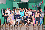30th Birthday Bash. William Heffernan, Stokers Place, Listowel, seated centre, celebrating his 39th birthday at The Kingdaom Bar , Listowel on Friday night last.