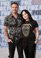 BEVERLY HILLS - AUGUST 7: Brian Austin Green and Shannen Doherty attend the FOX 2019 Summer TCA All-Star Party on New York Street on the FOX Studios lot on August 7, 2019 in Los Angeles, California. (Photo by Scott Kirkland/FOX/PictureGroup)