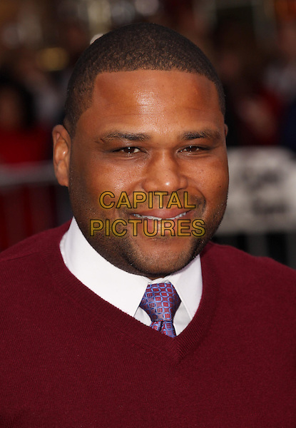 ANTHONY ANDERSON.'The Back-Up Plan' Premiere Mann Village Theatre, Los Angeles, California, USA..21st April 2010.headshot portrait white red.CAP/ADM/GW.©Glenn Weiner/AdMedia/Capital Pictures.