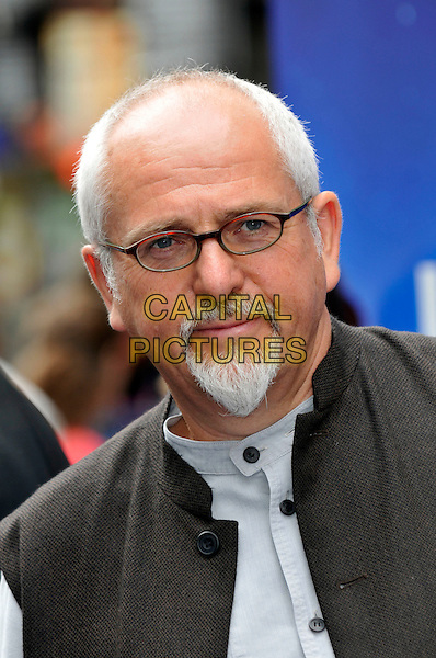 "PETER GABRIEL.UK Premiere of ""Wall-E"" at the Empire, Leicester Square, London, England. .July 13th, 2008.headshot portrait glasses goatee facial hair .CAP/PL.©Phil Loftus/Capital Pictures."