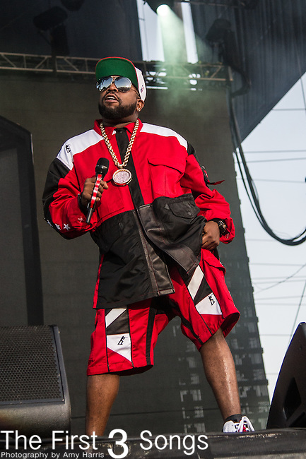 Big Boi of Outkast performs at the 2nd Annual BottleRock Napa Festival at Napa Valley Expo in Napa, California.