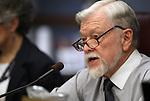 Nevada Assemblyman Joe Hogan, D-Las Vegas, speaks in commitee at the Legislature in Carson City, Nev. on Tuesday, March 15, 2011..Photo by Cathleen Allison