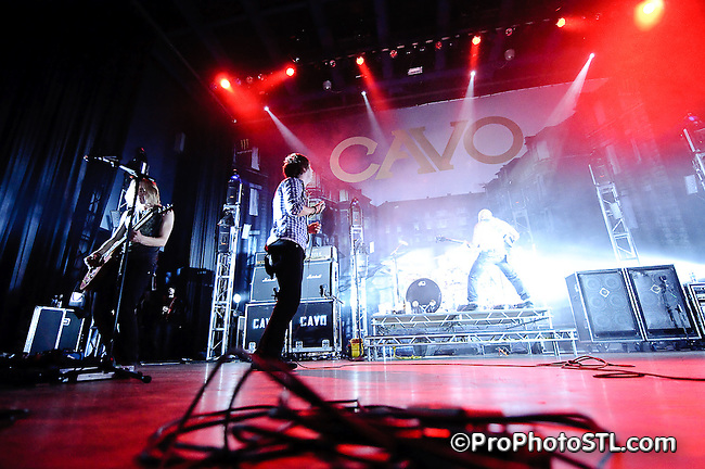 CAVO in concert at The Pageant in St. Louis, MO on Nov 27, 2009.