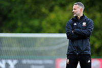 Ryan Giggs Manager of Wales during the Wales Training Session at The Vale Resort in Cardiff, Wales, UK. Monday 07 October 2019