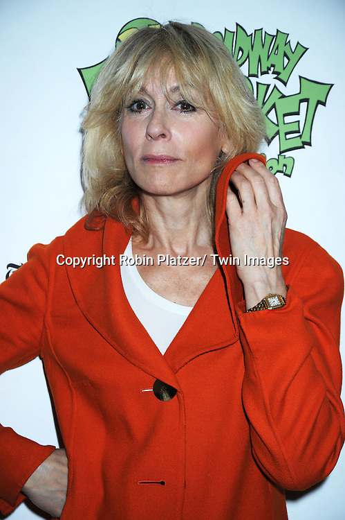 Judith Light posing for photographers at The Broadway Cares/ Equity Fights Aids 24th Annual Broadway Flea Market & Grand Auction on September 26, 2010 in Shubert Alley..photo by Robin Platzer/ Twin Images.212-935-0770