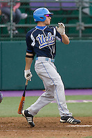 April 27, 2008: UCLA's Alden Carrithers at bat against the University of Washington at Husky Ballpark in Seattle, Washington.