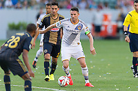 CARSON, CA - May 25, 2014: Los Angeles Galaxy forward Robbie Keane (7) during the LA Galaxy vs Philadelphia Union match at the StubHub Center in Carson, California. Final score, LA Galaxy 4, Philadelphia Union  1.