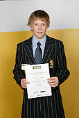 Yachting Boys Winner - Paul Snow-Hansen.ASB College Sport Young Sportsperson of the Year Awards 2006, held at Eden Park on Thursday 16th of November 2006.<br />