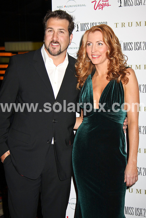 **ALL ROUND PICTURES FROM SOLARPIX.COM**.**SYNDICATION RIGHTS FOR UK, SPAIN, PORTUGAL, AUSTRALIA, S.AFRICA & DUBAI (U.A.E) ONLY**.Heather Mills at the 57th Annual Miss USA Competition at Planet Hollywood Theatre for the Performing Arts,  Planet Hollywood Resort and Casino, Las Vegas, NV, USA. 11th April 2008..This pic: Joey Fatone and Heather Mills..JOB REF: 6132 PHZ / PRN   DATE: 11_04_2008.**MUST CREDIT SOLARPIX.COM OR DOUBLE FEE WILL BE CHARGED* *UNDER NO CIRCUMSTANCES IS THIS IMAGE TO BE REPRODUCED FOR ANY ONLINE EDITION WITHOUT PRIOR PERMISSION*