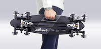 STAIR-ROVER was founded by RCA Design Products graduates Po-Chih Lai, Quake Hsu and Ard Heynike. Po-Chih Lai's longboard evolved from a simple truck and wheel invention, to an all-terrain longboard for the ground and stairs, known as the STAIR-ROVER.