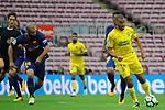 League Santander 2017/2018 - Game: 7.<br /> FC Barcelona vs UD Las Palmas: 3-0.<br /> Javier Mascherano vs Oussama Tannane.