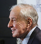 Garry Marshall attends the Off-Broadway opening Night Performance After Party for 'Billy & Ray' at the Vineyard Theatre on October 20, 2014 in New York City.